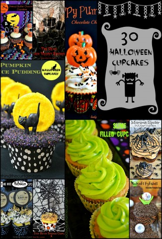 30 Halloween Cupcakes