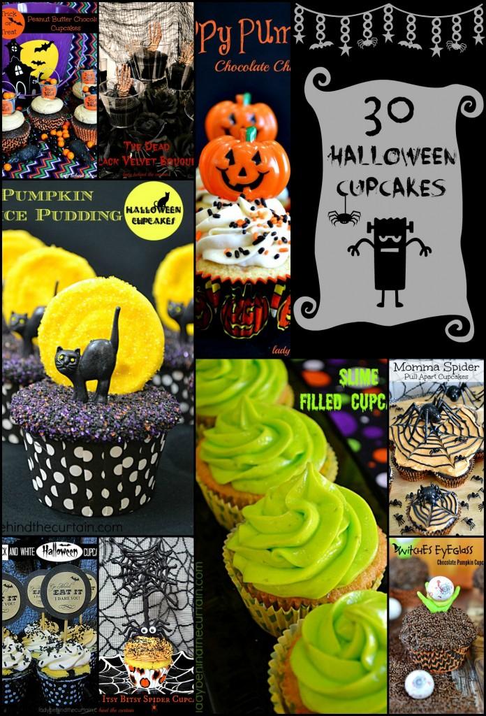 30 Halloween Cupcakes - Parade2