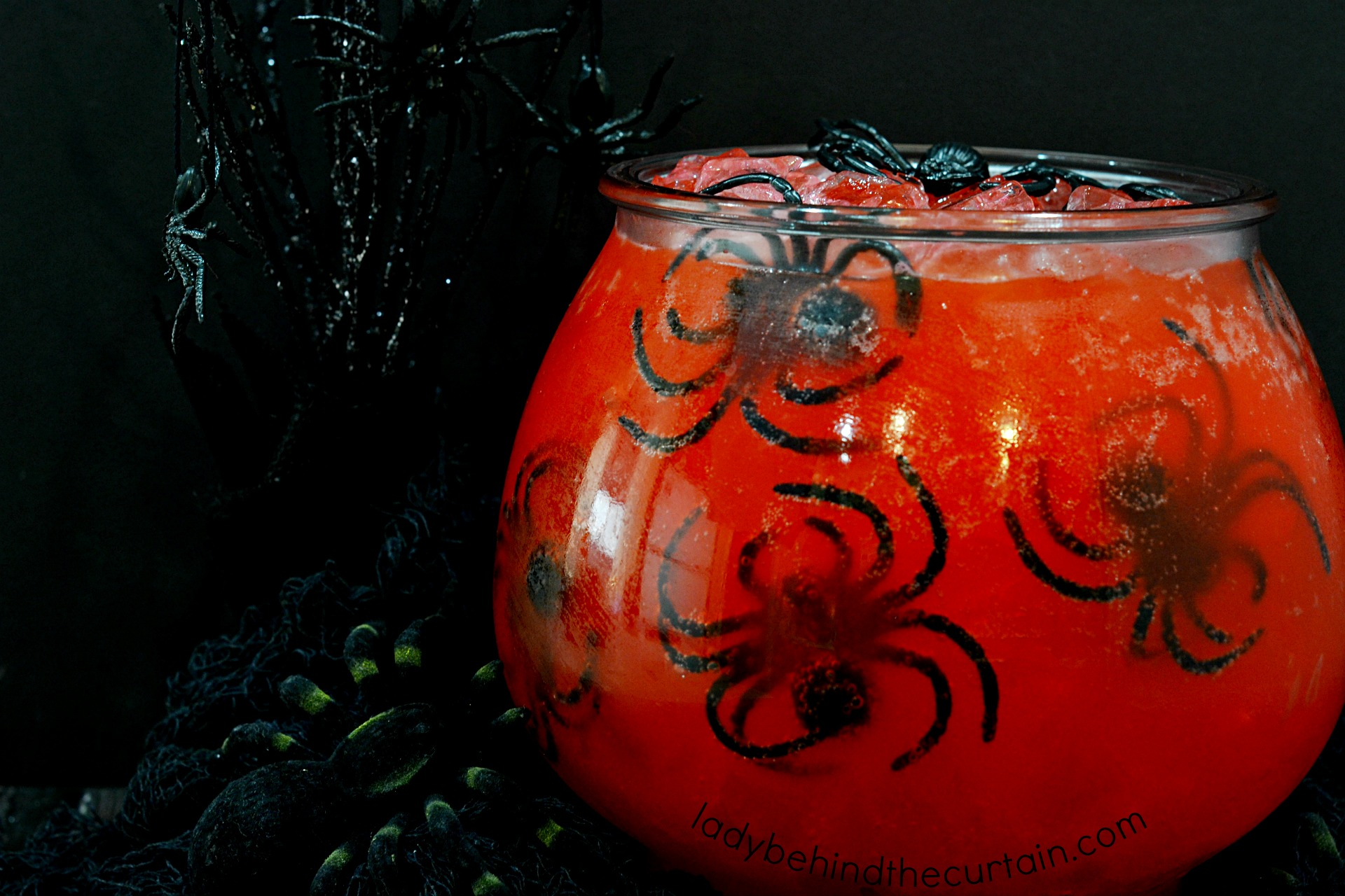 Black Widow Venom Halloween Punch