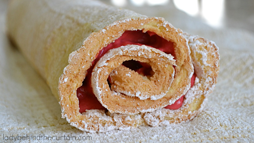 Raspberry Créme Cake Roll | Present this remarkable cake as your grand finale after a delicious meal!