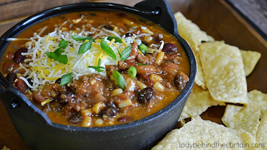 The Best Semi Homemade Chili