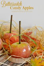 Butterscotch Candy Apples
