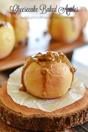Cheesecake Baked Apples 7