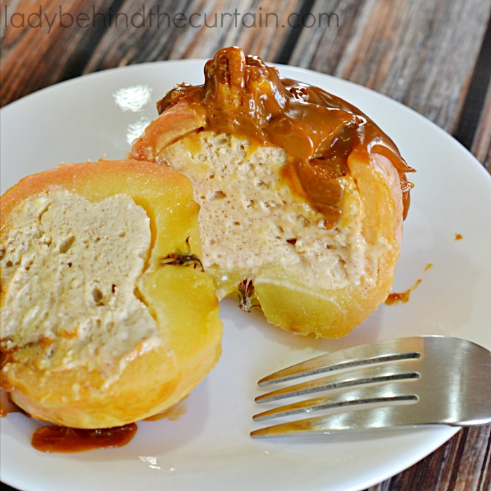 Cheesecake Baked Apples 8