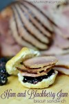 Ham and Blackberry Jam Biscuit Sandiwch 2