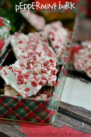 Peppermint Bark | Not too sweet with just the right amount of crunch and mint flavor.