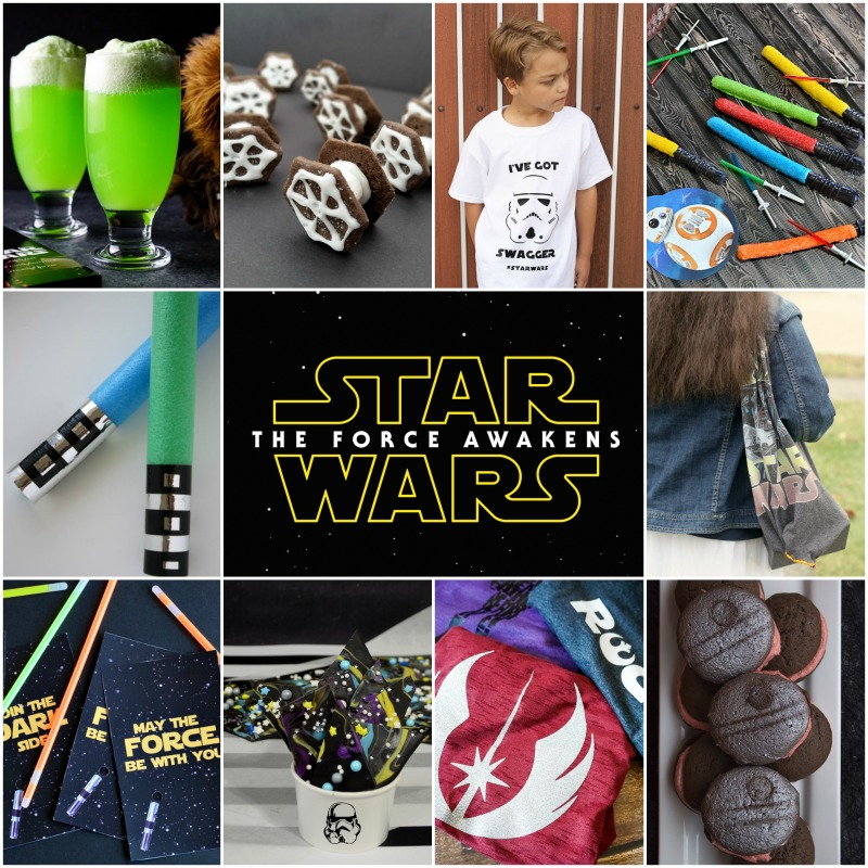 15 Star Wars The Force Awakens Party Ideas