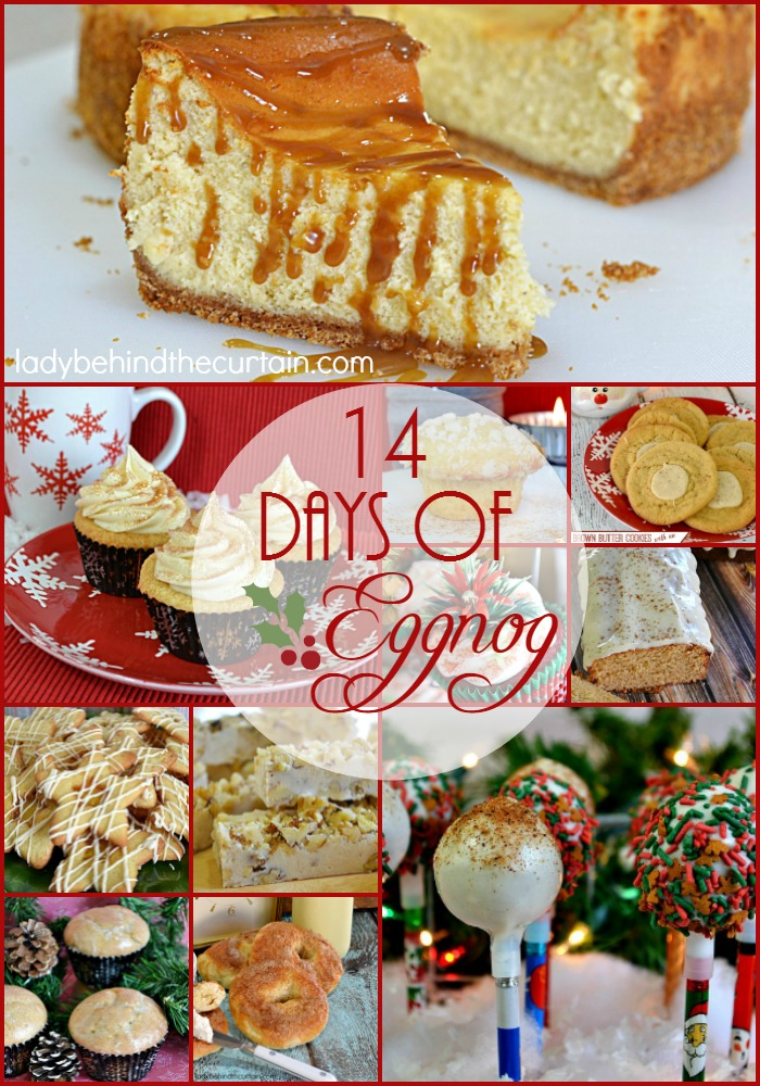 14 Days of Eggnog | Celebrate the season with eggnog inspired recipes, perfect for all your Christmas celebrations!