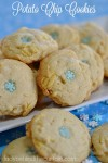 Potato Chip Cookies | A melt in your mouth light cookie full of butter flavor with a little crunch.