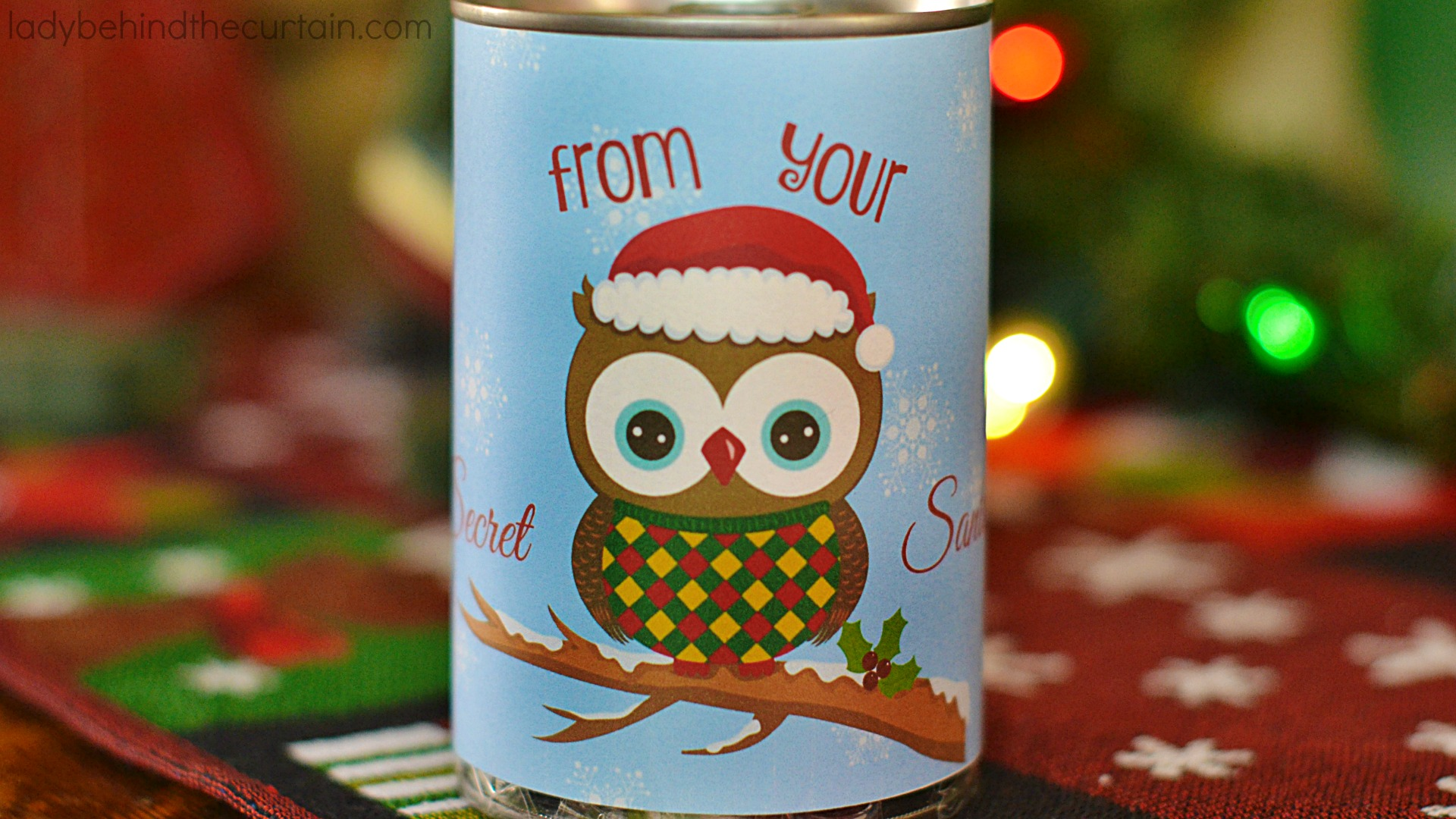 Secret Santa Gift In a Can | Sometimes the best part about a gift is how it's packaged!