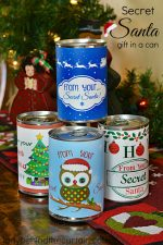 Secret Santa Gift In a Can