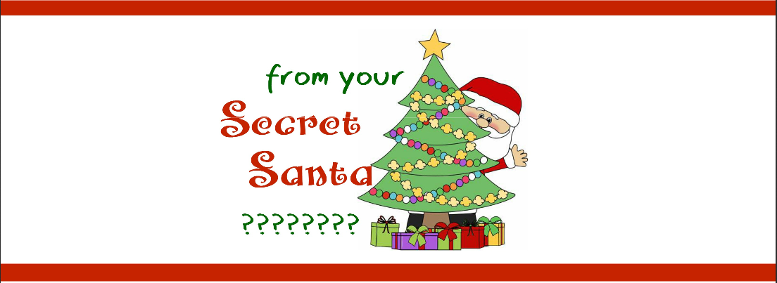 Secret Santa Label 1-1