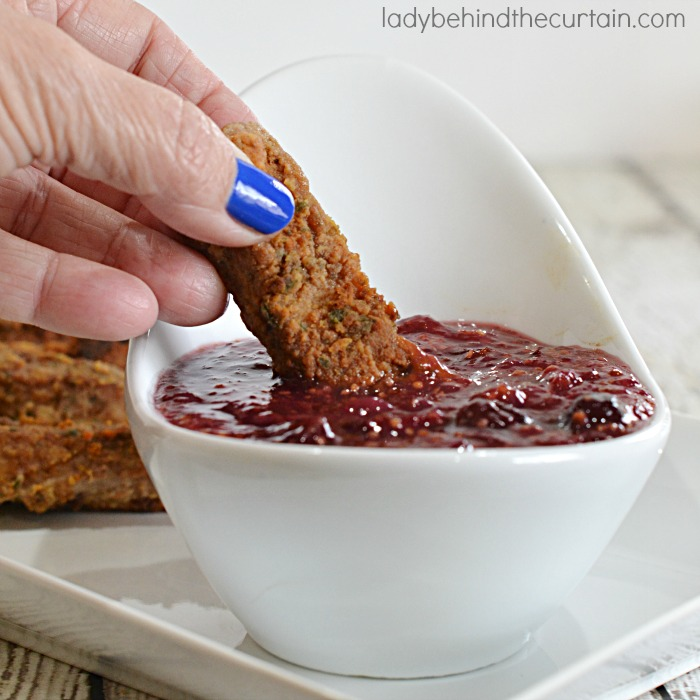 Cranberry Dipping Sauce 3