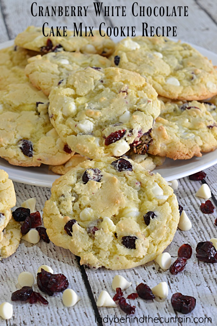 Yellow Cake Mix Into Cookies