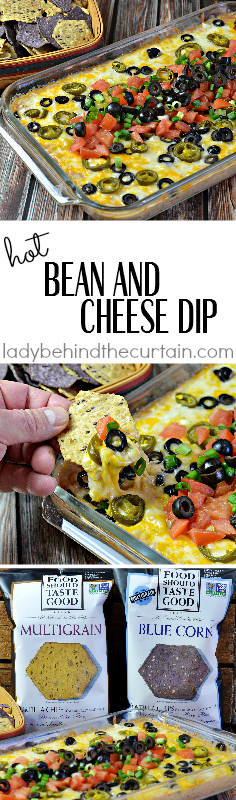 Hot Bean and Cheese Dip | Make a touchdown with your hungry game watchers and serve a dip they can really dig into!