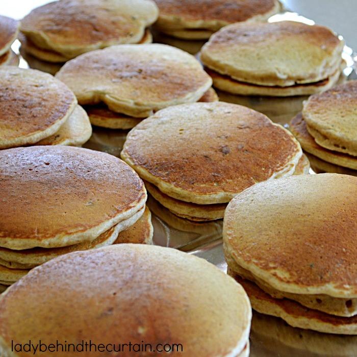 Light Cranberry Orange Pancakes