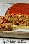 Light Italian Meat Loaf | You would never know this meatloaf was light. It's still packed with tons of flavor.