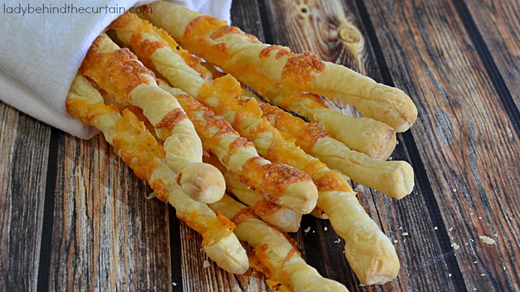 Puff Pastry Cheese Sticks
