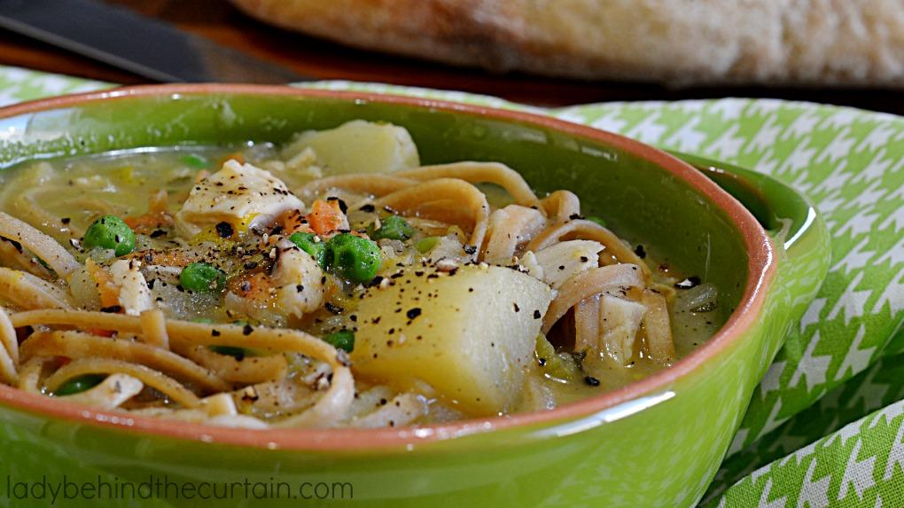 Semi Homemade Creamy Chicken Soup