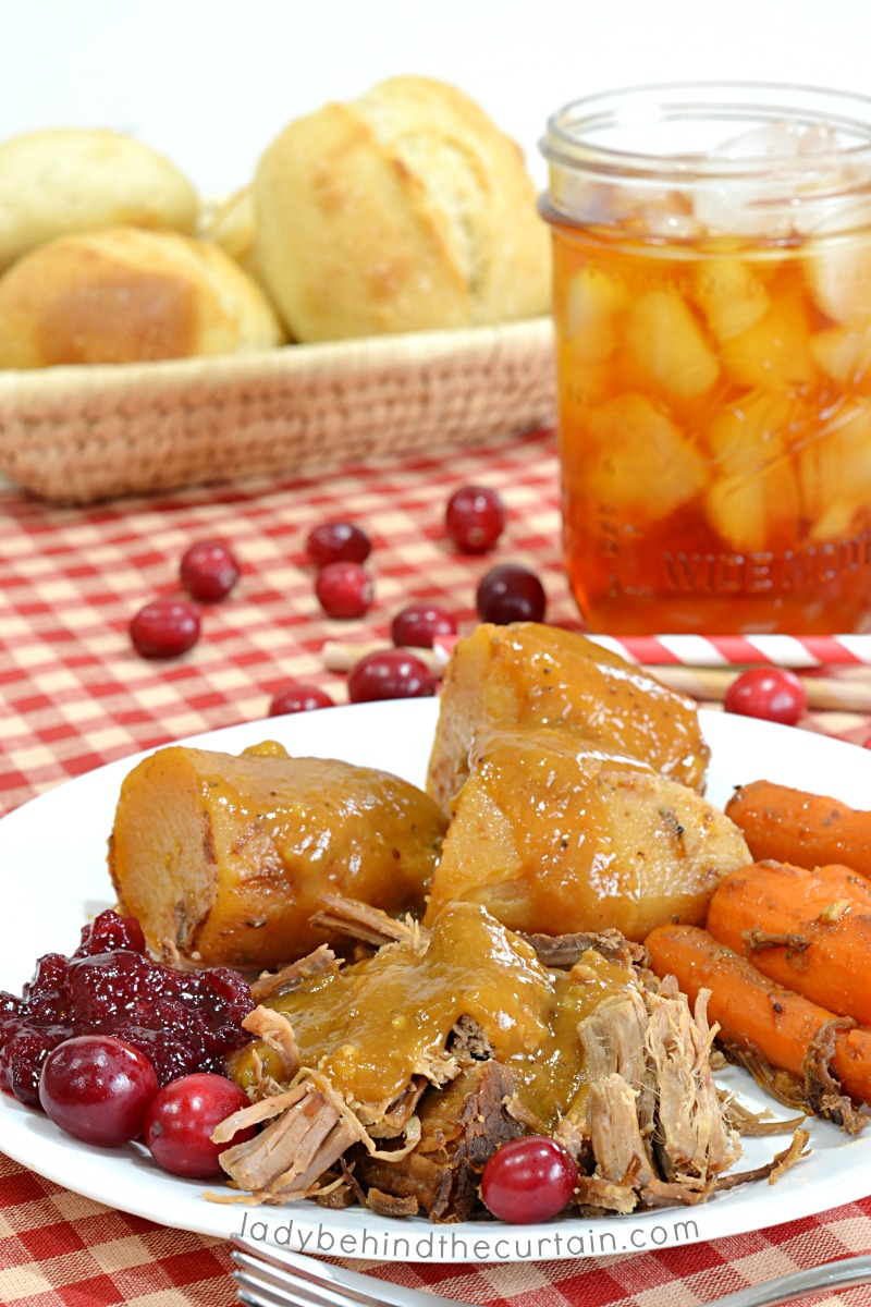 Slow Cooker Cranberry Roast