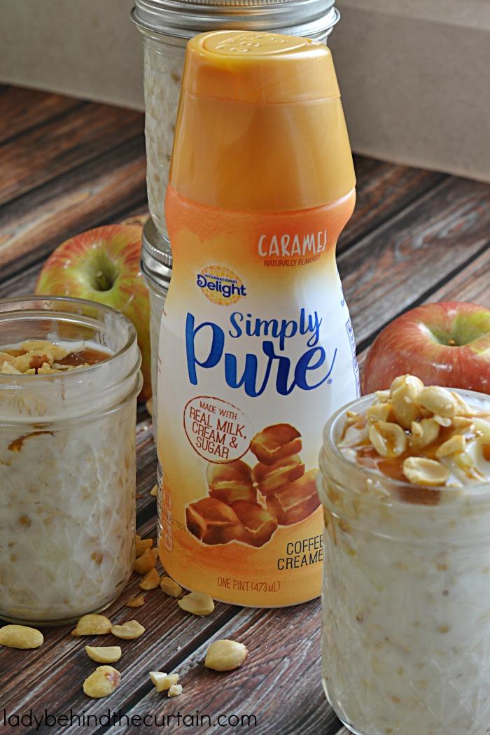 Caramel Apple Overnight Oatmeal