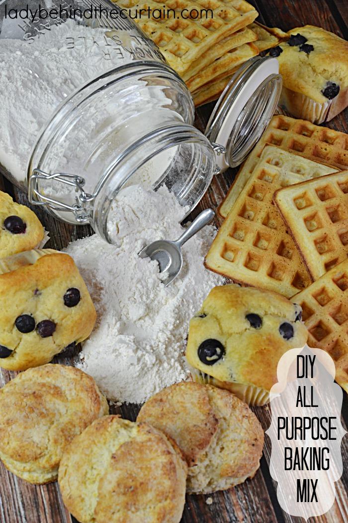 DIY All Purpose Baking Mix