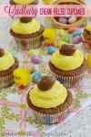 Cadbury Cream Filled Cupcakes