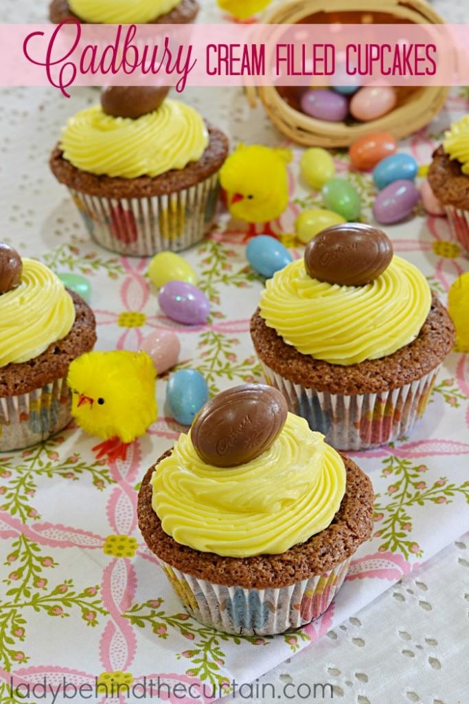 Cream Filled Devil S Food Cupcakes Recipe