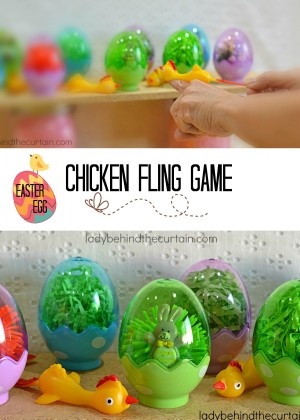 Easter Egg Chicken Fling Game