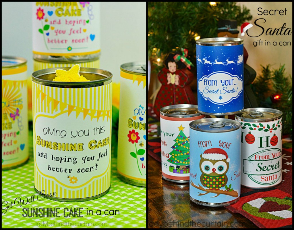 Gift in a Can