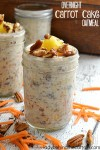 Overnight Carrot Cake Oatmeal