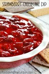 Strawberry Cheesecake Dip