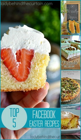 Top 5 Facebook Easter Recipes