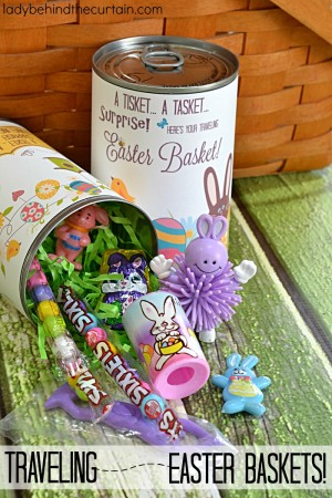 Traveling Easter Baskets
