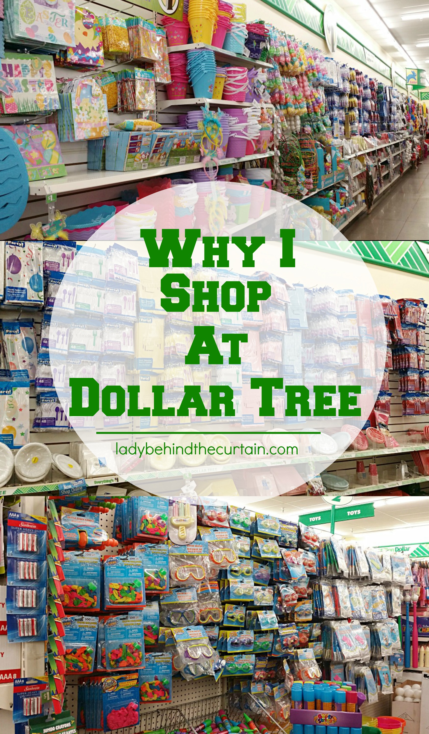 Why I Shop at Dollar Tree