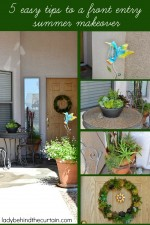 5 Easy Tips to a Front Entry Summer Makeover