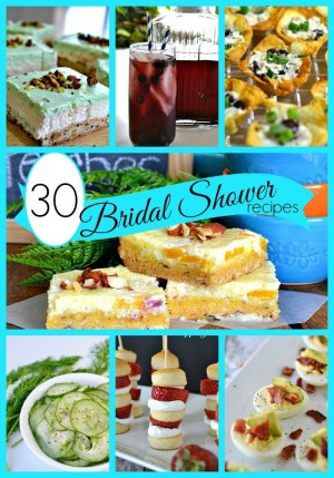 30 Bridal Shower Recipes