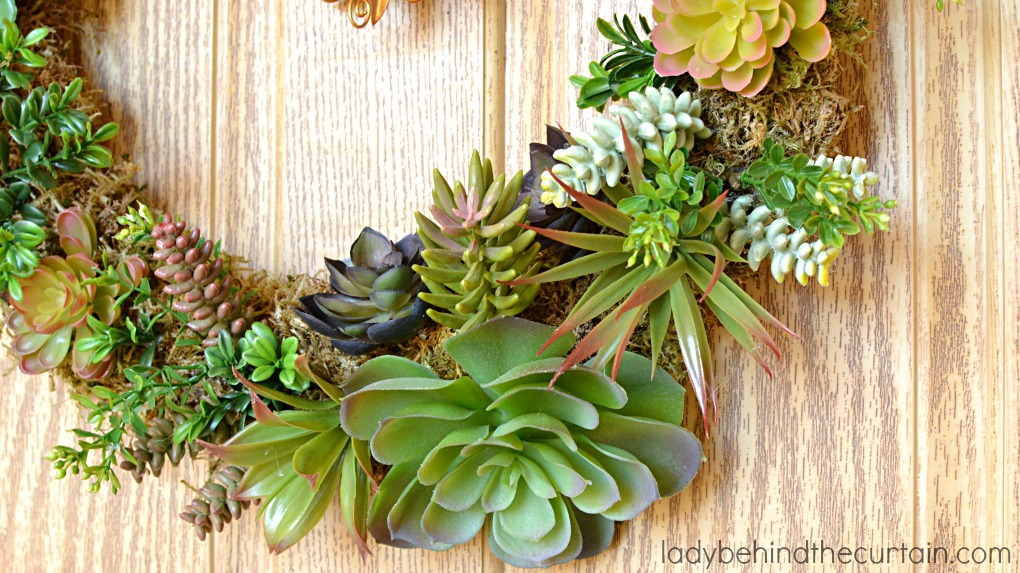 diy artificial succulent front door wreath the perfect summer wreath i got the succulents