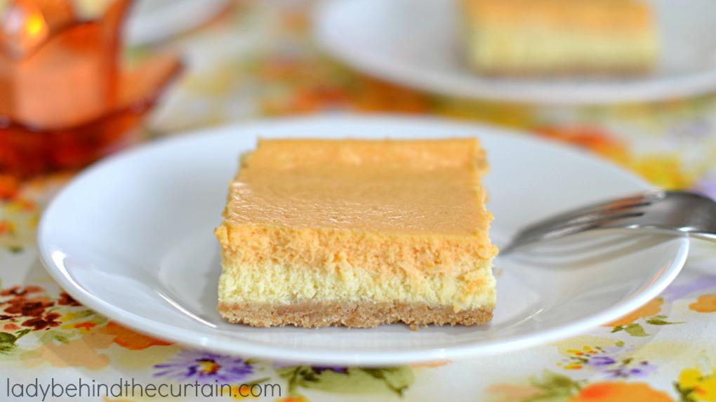 Orange Creamsicle Cheesecake Bars