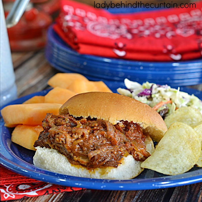 Slow Cooker Barbecue Beef Sandwiches  These sweet and juicy sandwiches are perfect for a quick and easy weeknight meal. Hot summer nights call for a cool kitchen and the slow cooker is the way to go.