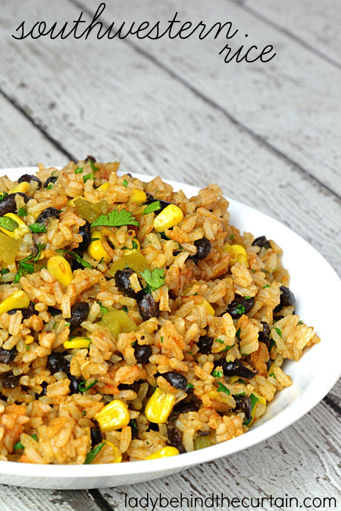 Southwestern rice southwestern rice need a new side dish to serve on taco night i have forumfinder Gallery
