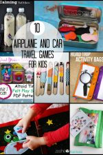 10 Airplane and Car Travel Games for Kids