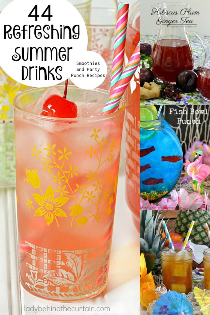 44 Refreshing Drinks, Smoothies and Party Punch Recipes