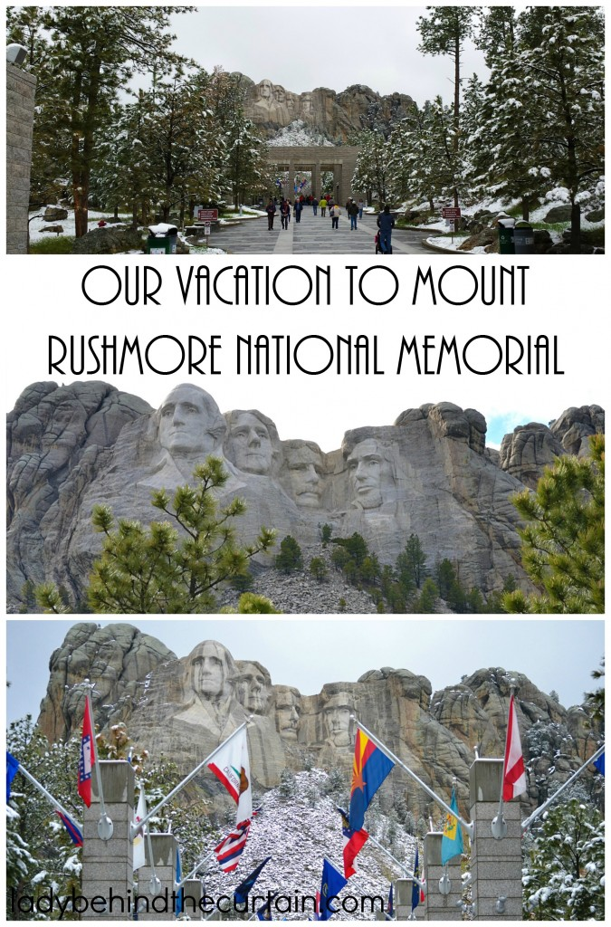Our Vacation at Mount Rushmore National Memorial   This was by far the BEST vacation we've EVER had!