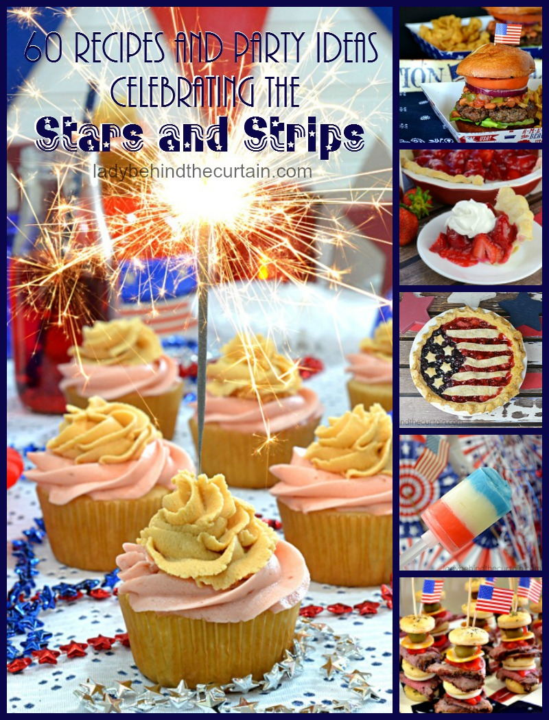 60 Recipes and Party Ideas Celebrating the Stars and Strips