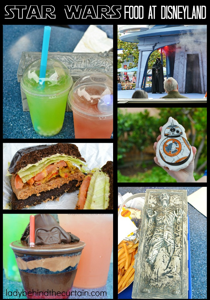 Star Wars Season of the Force Food at Disneyland