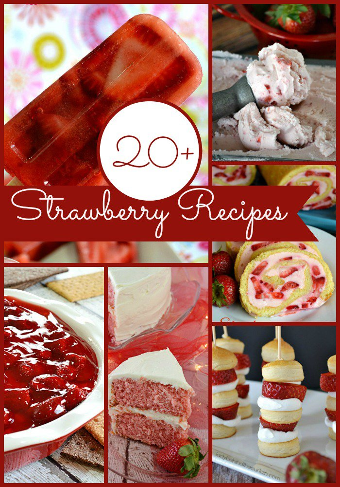 Over 20 Strawberry Recipes | I have to confess that #18 is my absolute favorite. I make it every summer.