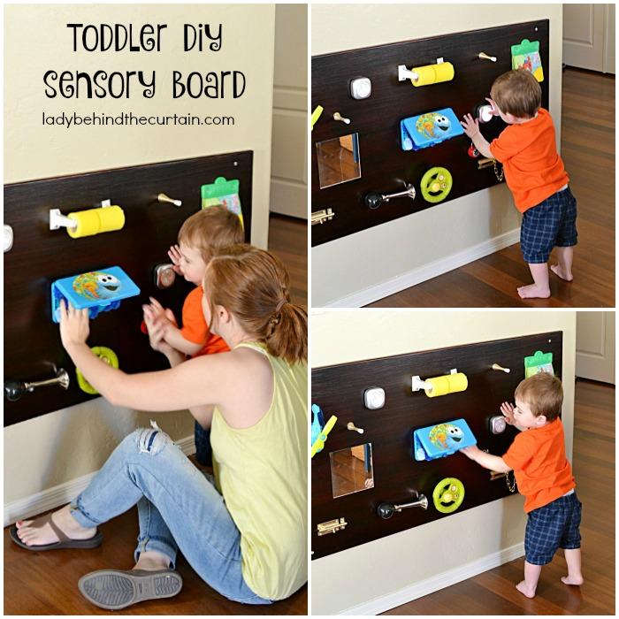 Toddler Diy Sensory Board