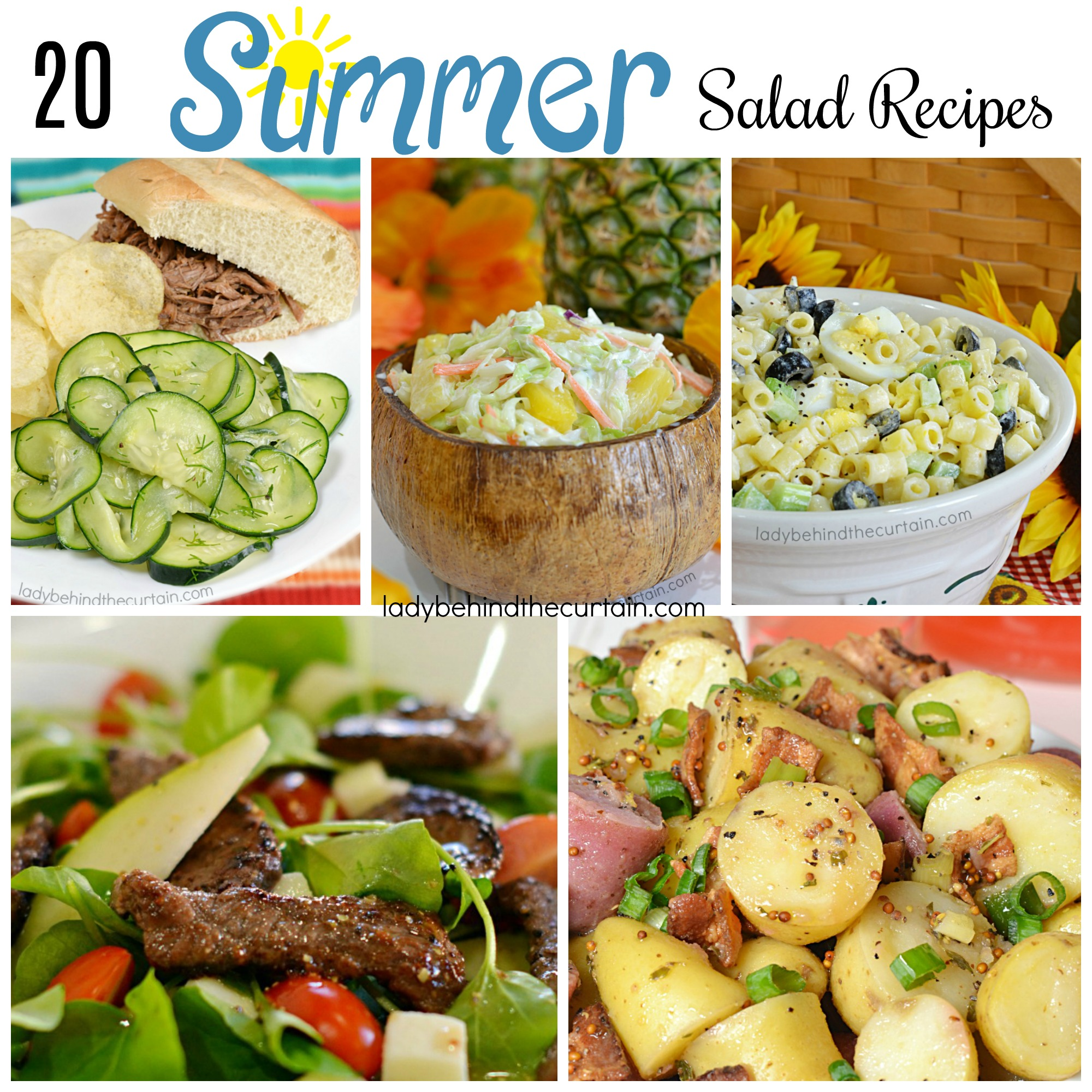 20 Summer Salad Recipes