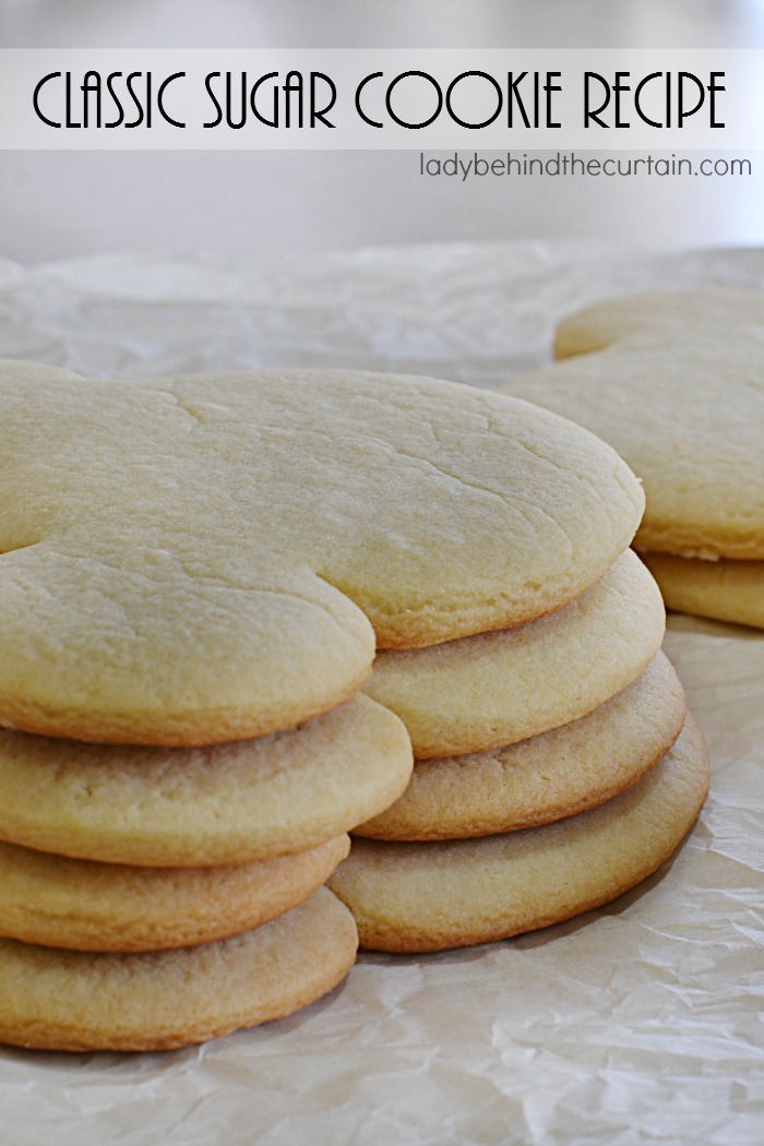 Classic Sugar Cookie Recipe | This tender cookie is everyone's favorite. With a wonderful butter flavor and just the right amount of sugar. You can cut this dough into a variety of shapes to compliment any occasion.